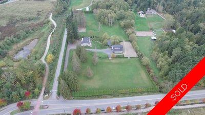 Campbell Valley  Acreage for sale:  3 bedroom 3,300 sq.ft. (Listed 2015-10-13)